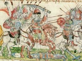 Радимичи, битва, средневековье