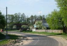 деревня, Беларусь, дарога