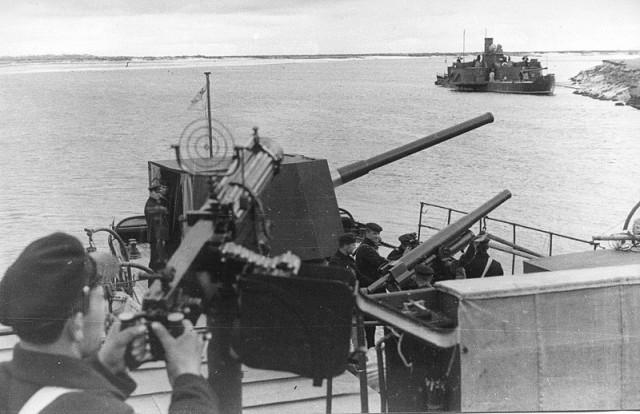 Днепровская военная флотилия, Пинская военная флотилия