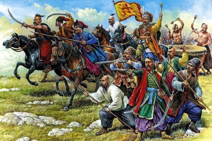 восстание Хмельницкого, казакі