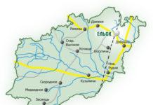 карта, мапа, Ельскі раён