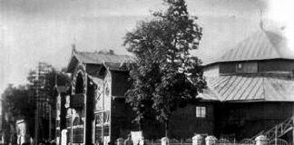 Фото старого цирка в Гомеле