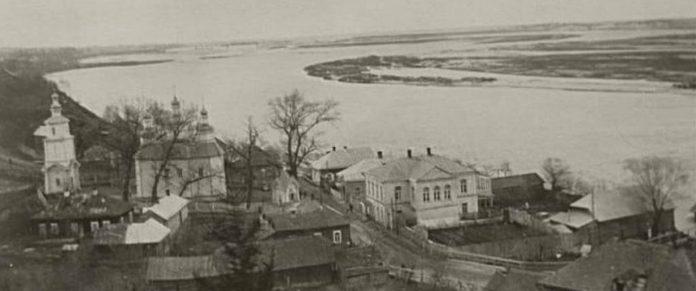 история Мозыря и красивый вид на реку