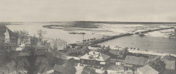 Вид на старый город Мозырь