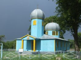 Церковь в деревне Неглюбка