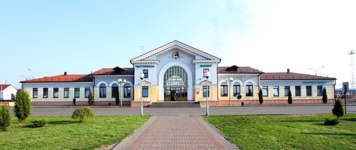 Калінкавічы, вокзал