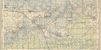 Деревня Погост на карте Лельчицкого района