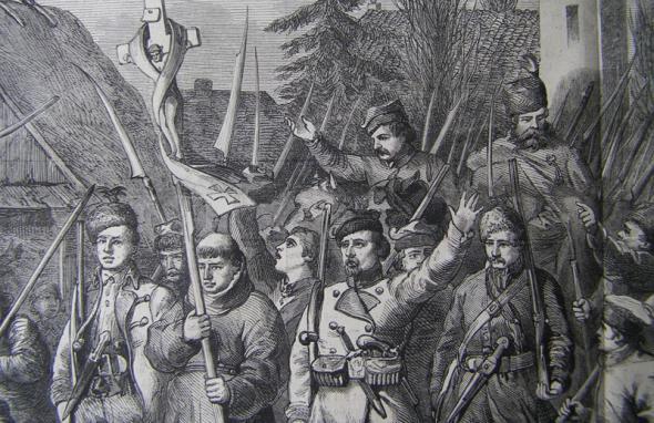 Паўстанцы, паўстанне на Каменшчыне