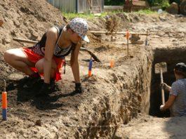 Раскопки в Гомеле, археология Гомель