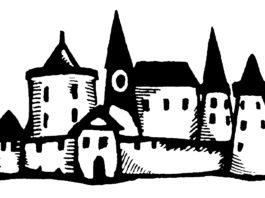 Замок Гомель, средневековье