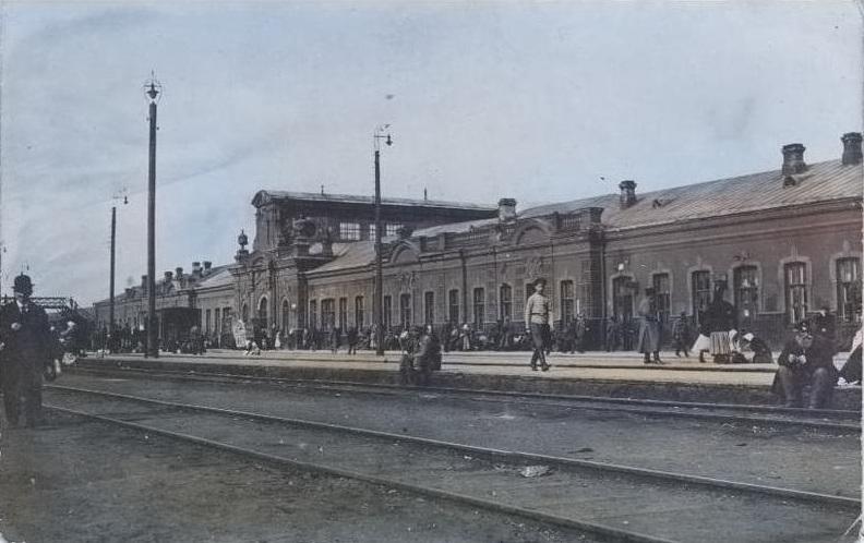 Здание старого гомельского вокзала