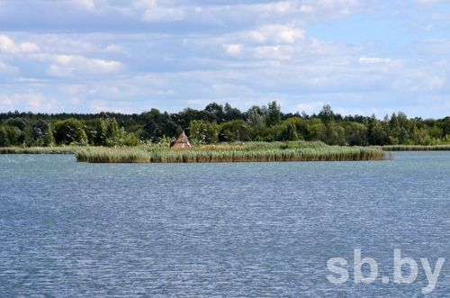 озеро Гомель, озёрная гладь