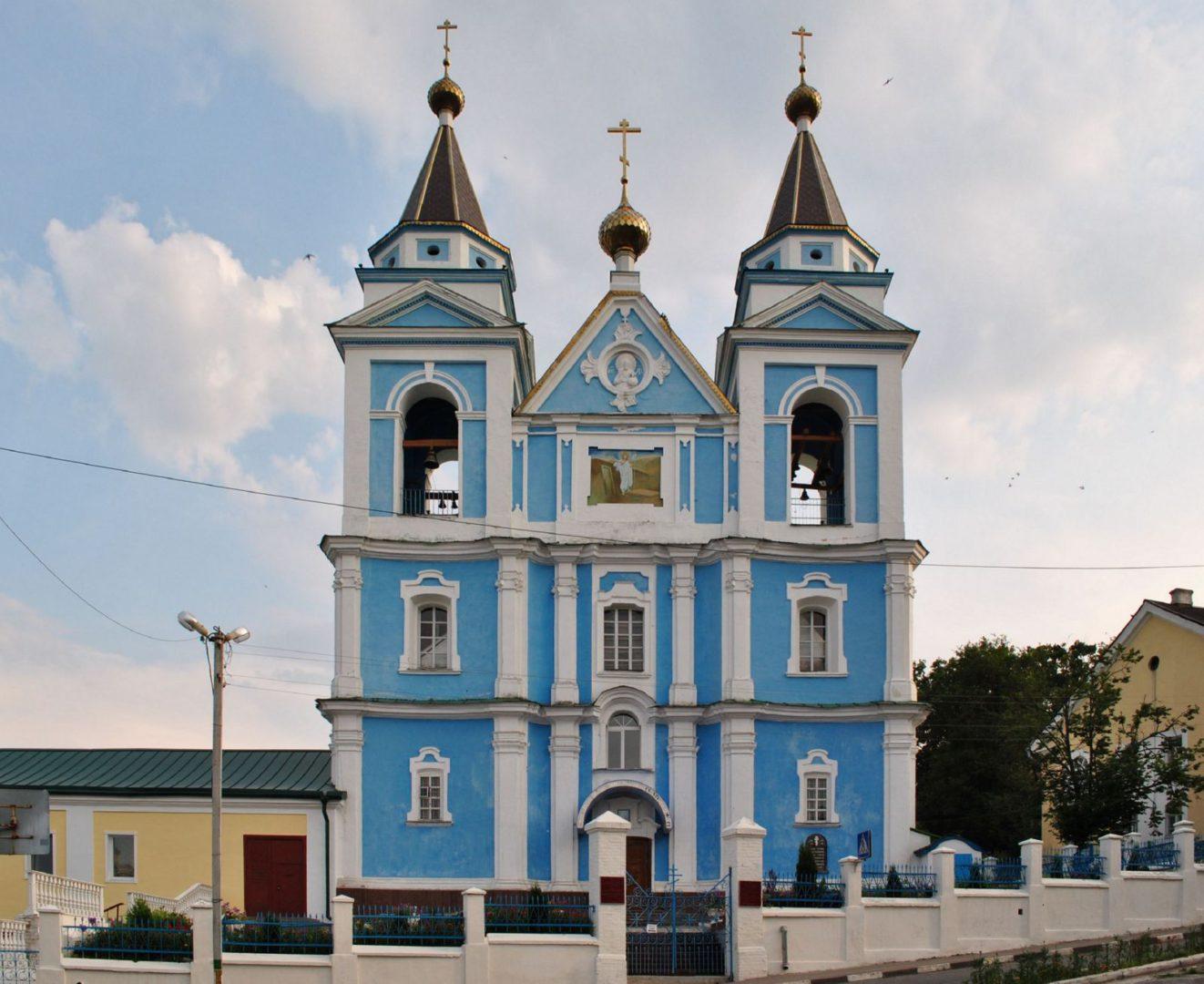 Фото собора во имя Архистратига Михаила в Мозыре
