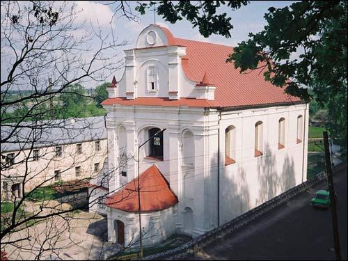 Костёл святого Михаила Архангела и монастырь цистерианок в Мозыре