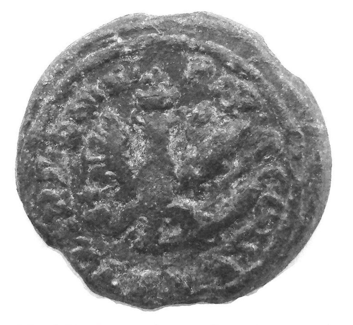Изображение орла на печати Владислава 4 Ваза