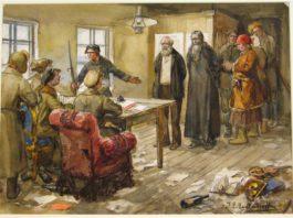 священик, дворянин, революция