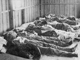 Мёртвые жители Кишенёва, погибшие в результате еврейского погрома 1903 г.