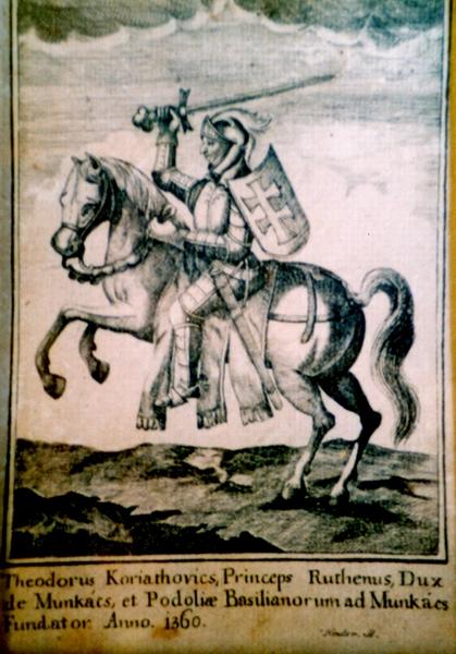 Фёдор Кориатович на европейской гравюре