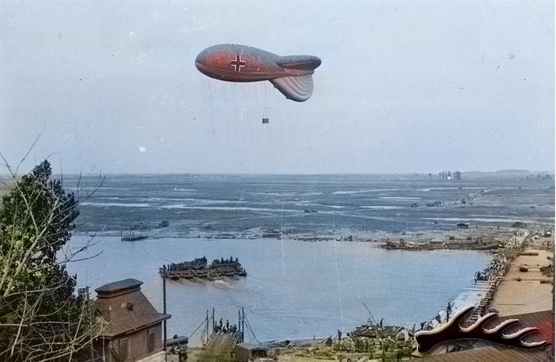 Цветная фотография Гомеля во время Великой Отечественной войны