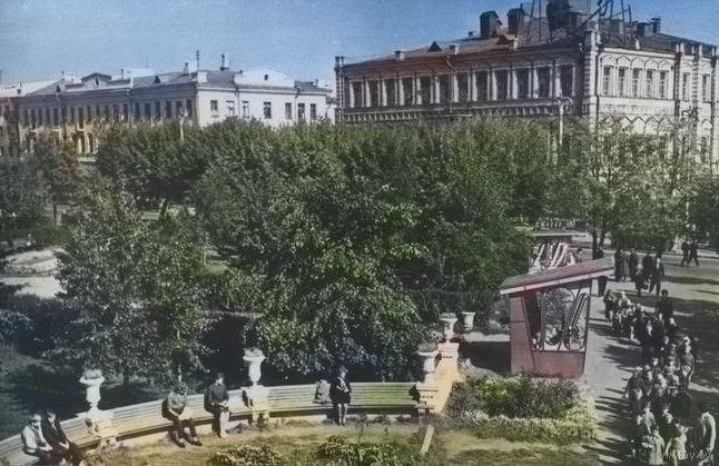 Ранее в здании находилась гомельская городская дума