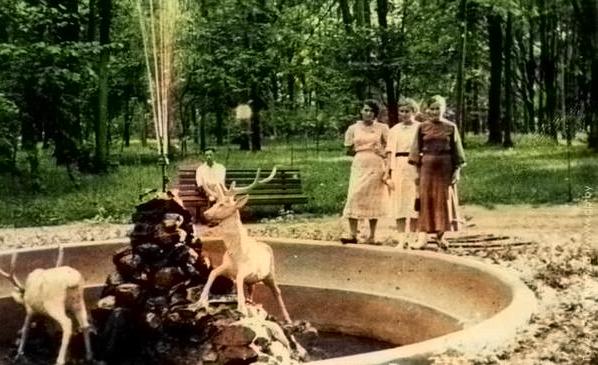 Гомельский парк им. Луначарского в 1955-1960 гг.