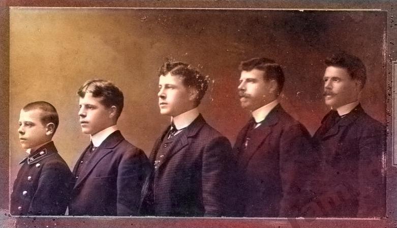 Гомельчане на старых фото, которым вернули цвет