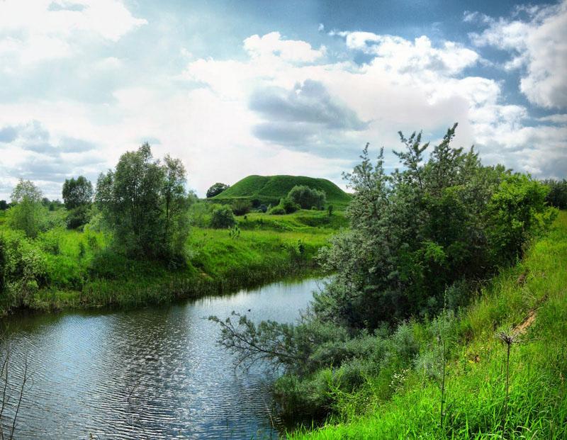 Шведская горка в Волковыске на фото