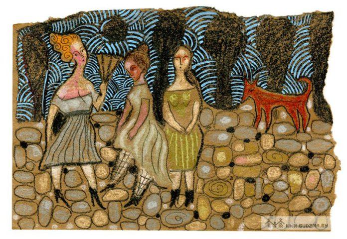 Рисунок Андруся Такінданга