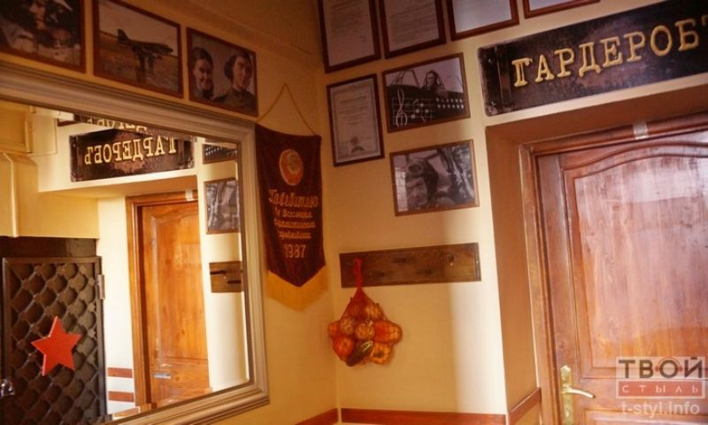 Интерьеры ресторана в стиле СССР