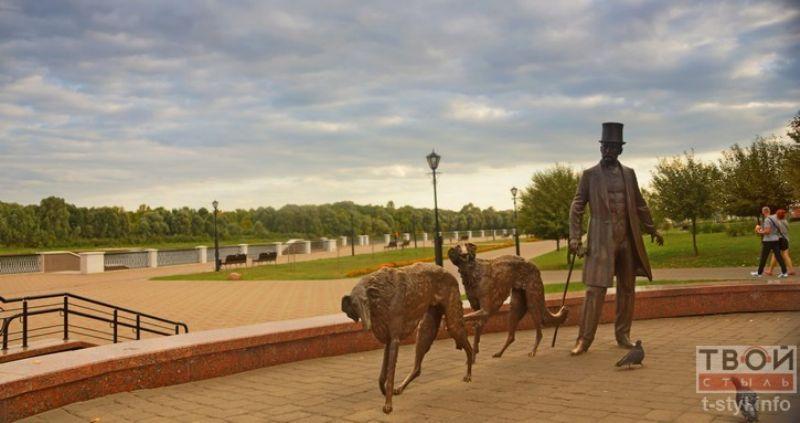 Знаменитый памятник Паскевичу в Гомеле