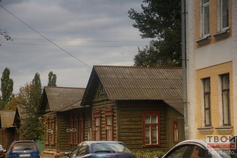 Деревянный дом в Гомеле