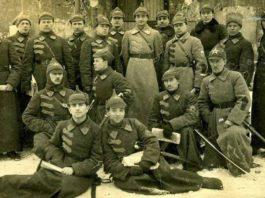 Первые сражения Красной армии во время Гражданской войны