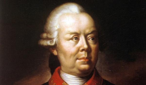 Владелец Гомеля Александр Иванович Румянцев, полководец и маршал Российской империи.