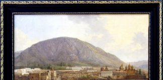 Картина «Вид Тифлиса». Автор Никанор Чернецов