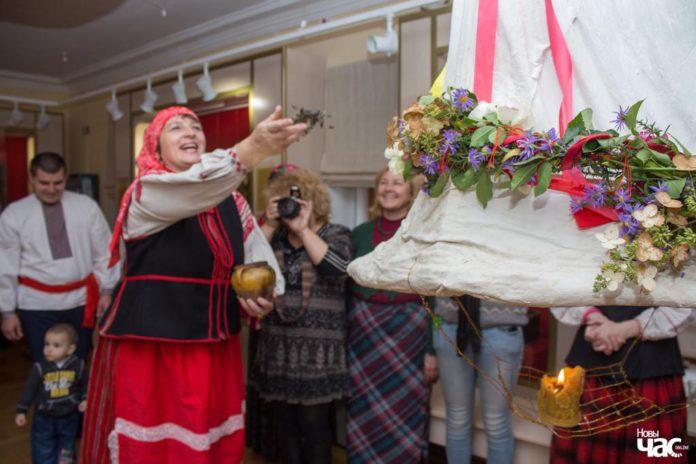 Жаніцьба коміна ў філіяле Веткаўскага музея