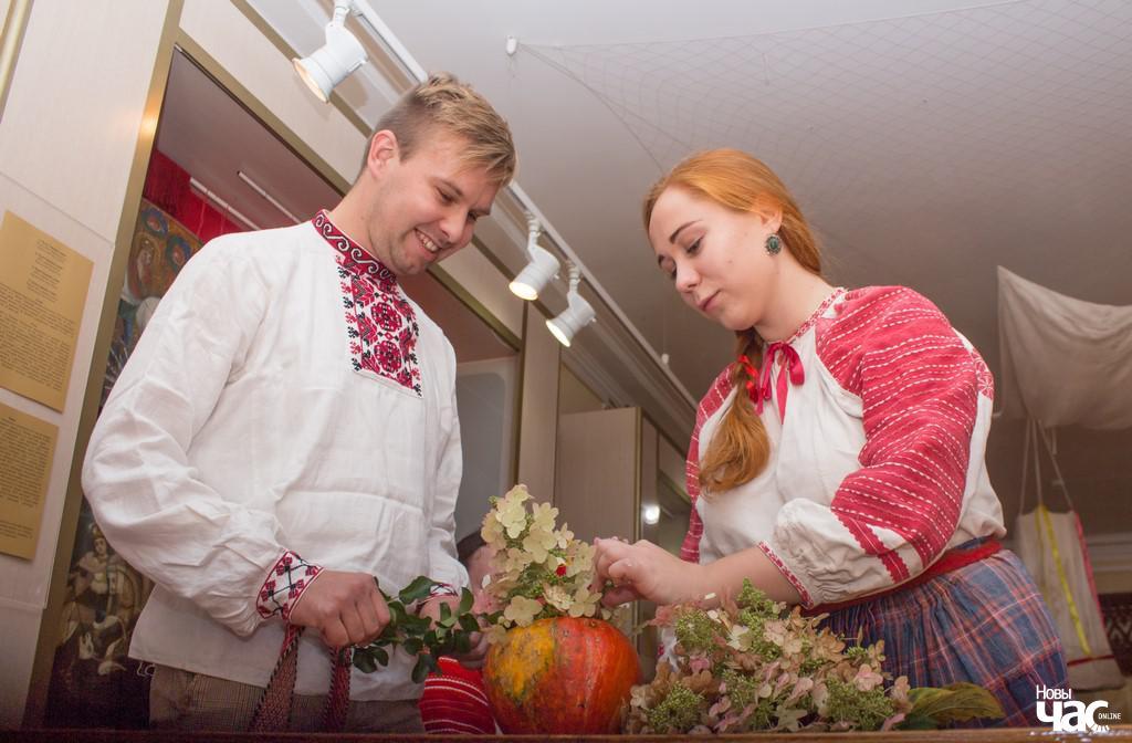 Пятро Цалка і Лідзія Лешчанка ў Гомелі на Жаніцьбе коміна