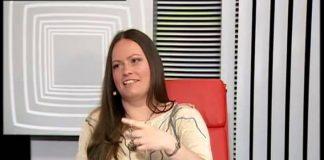 """Ірына Глушэц прымае ўдзел у праграме """"Дыяблог"""" """"Пра мову""""."""