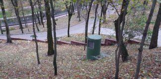 Подземный ход в Гомеле возможно находиться в парке