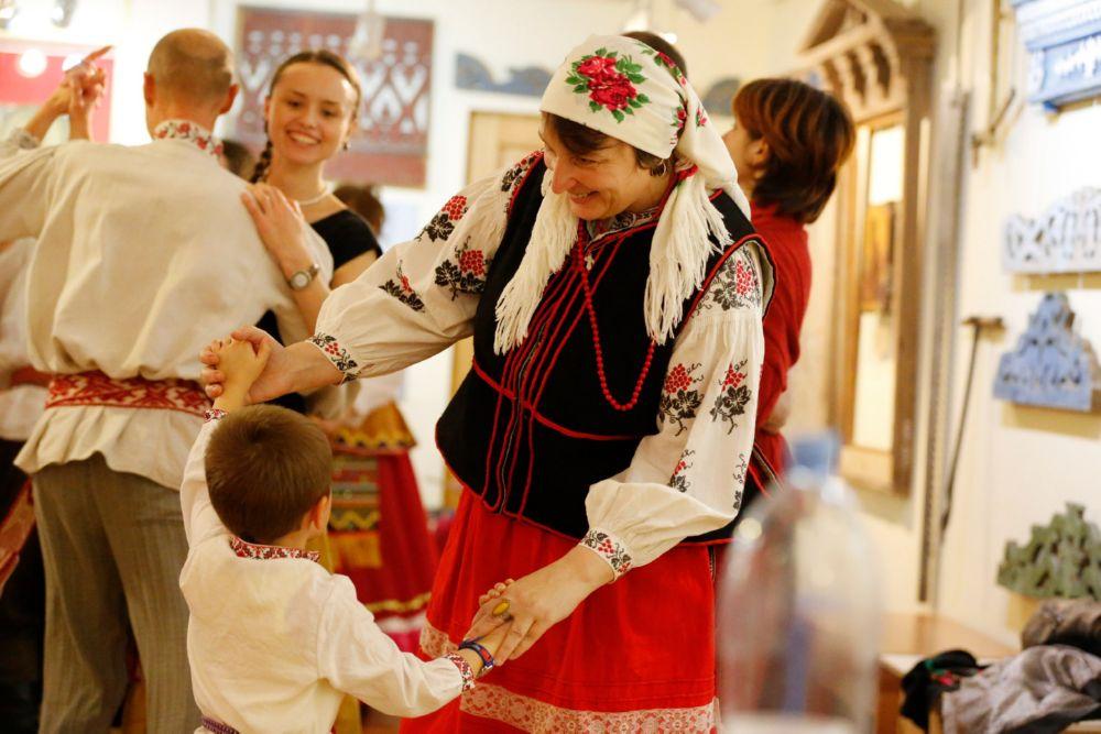 Беларускія традыцыйныя танцы ў Гомелі