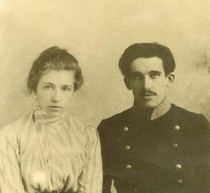 Яўген Клумаў з жонкай