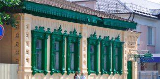 Гэты будынак на вуліцы Пралетарскай у Гомелі - помнік архітэктуры