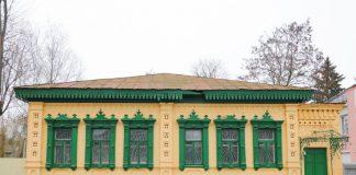 Стары будынак на вуліцы Пралетарскай у Гомелі зараз рэканструюе бізнесмен
