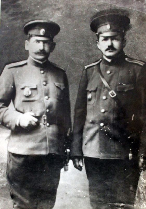 Гавриил Сает из Мозыря со своим братом
