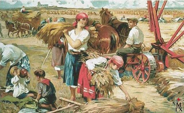 Сельхозартель и экскурсии на неё в БССР и Гомеле