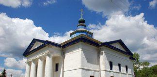 Свято-Екатерининская церковь в деревне Гадичево