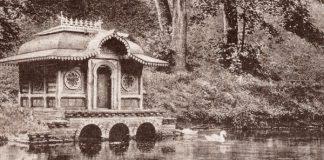 Лебединый пруд в имении Паскевича и гомельский парк