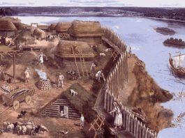 Древнерусское поселение, в котором могли жить радимичи