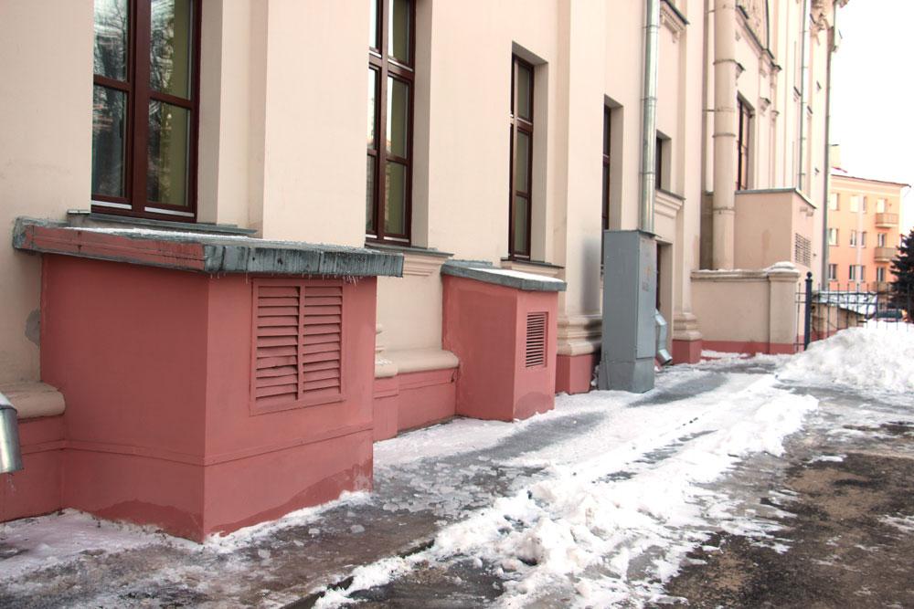 Вентиляционные каналы гомельского театра