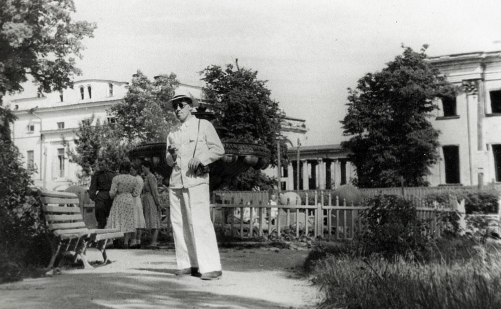 Парк в Гомеле, старое фото