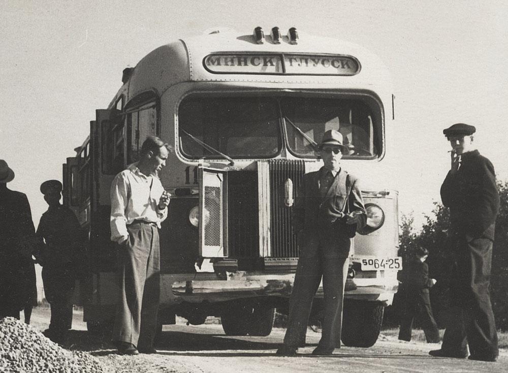 Автобус Минск Глусск 1955 год